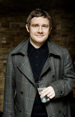 Martin Freeman arrives at the UK premiere of Infamous in London, England. 